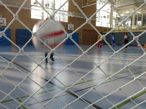 Fussball in der Schule