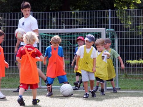 Fußball-Kindergarten